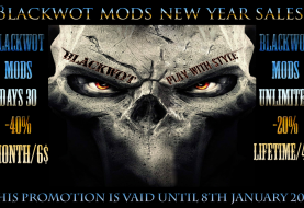 BLACKWOT MODS NEW YEAR SALES!