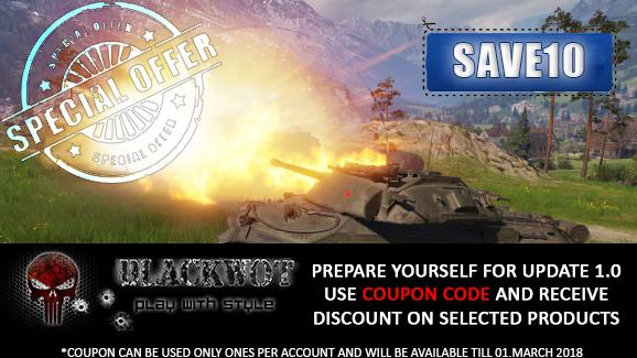 Special Offer for BLACKWOT!!!!!!